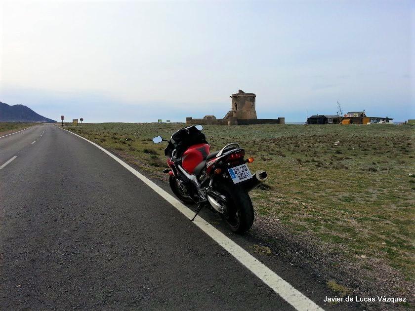 Torreón de San Miguel en el Cabo de Gata.