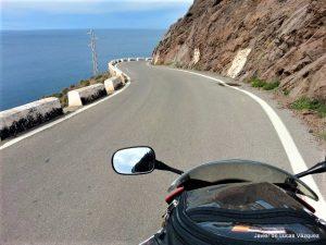 El promontorio entre la Fabriquilla y el Faro del Cabo de Gata