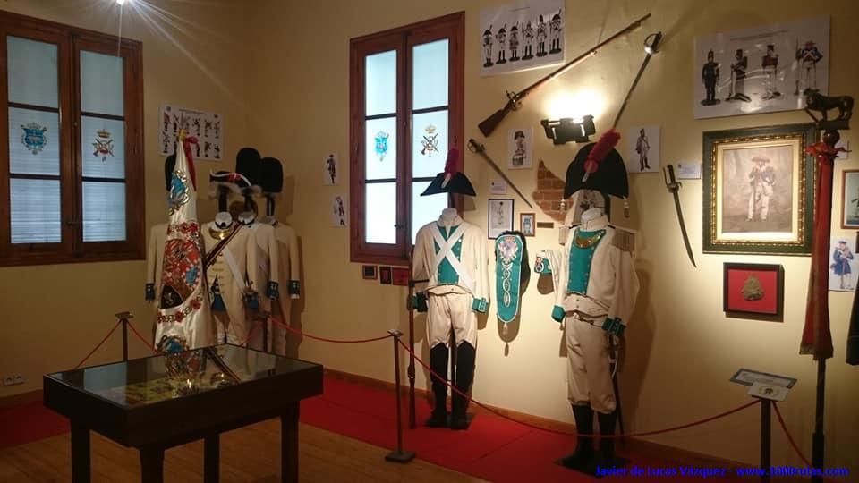 """Museo del Regimiento de Infantería Mecanizada """"Asturias"""" 31."""