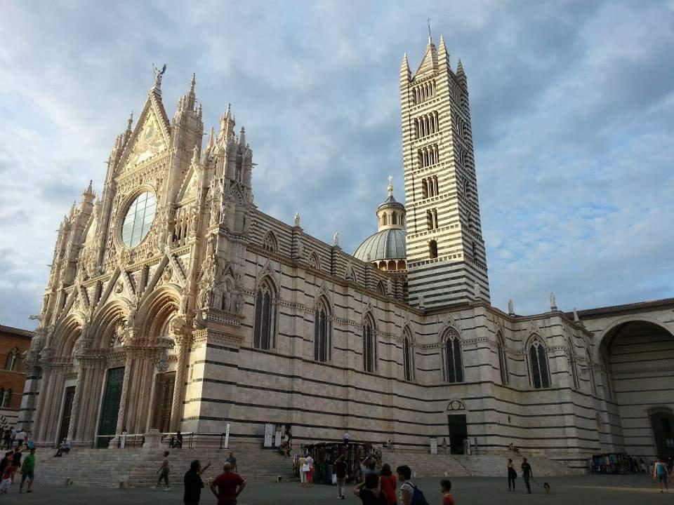 La monumental Catedral de Siena