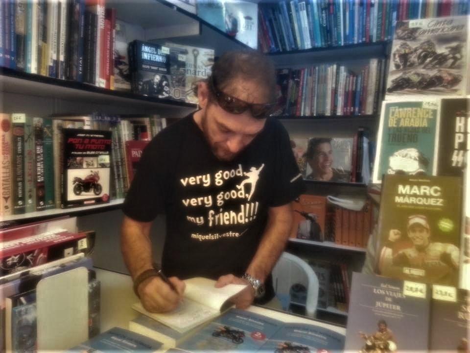 Miquel Silvestre en la Feria del Libro