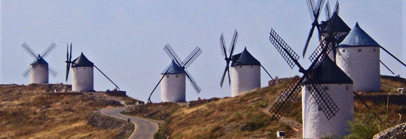 Molinos de Consuegra, la Mancha, España
