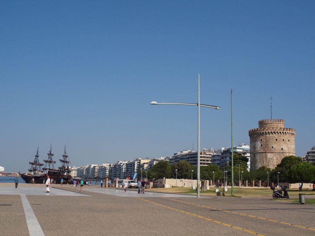 Torre Blanca en Tesalónica