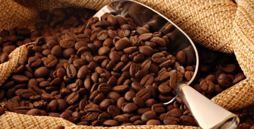 Café tostado colombiano.