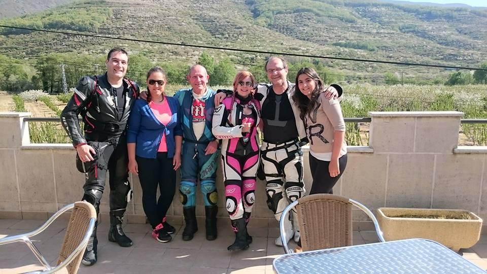 Foto de Grupo tras la comida en el Restaurante El Castillo.