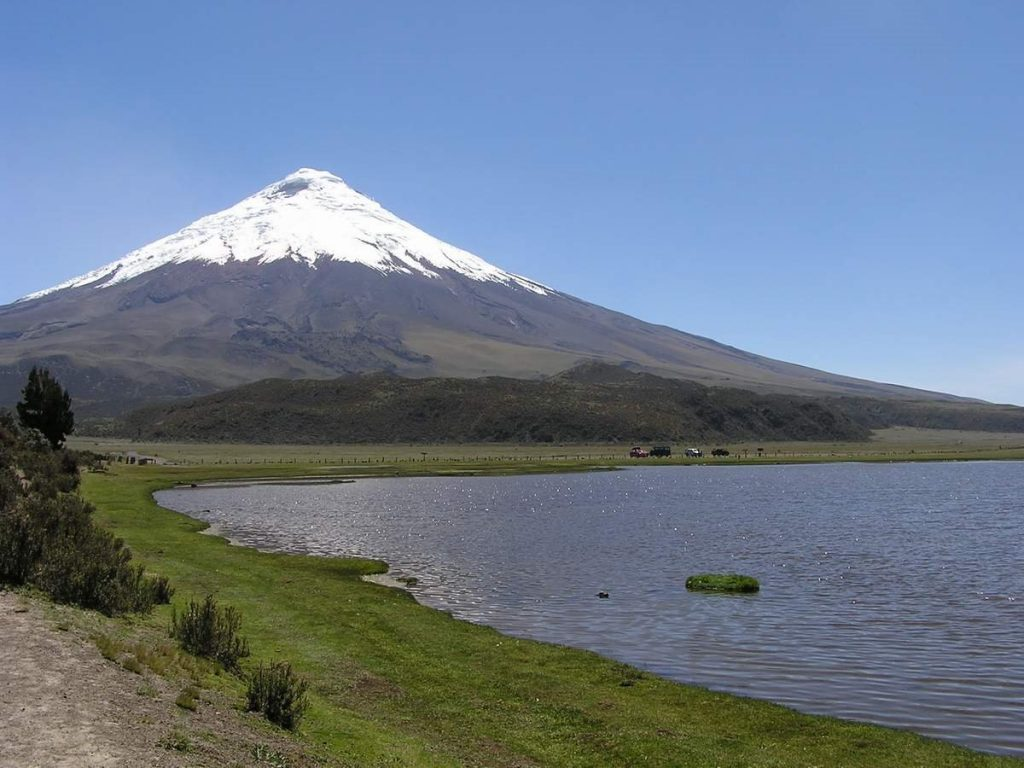 Volcan Cotopaxi en Sangay