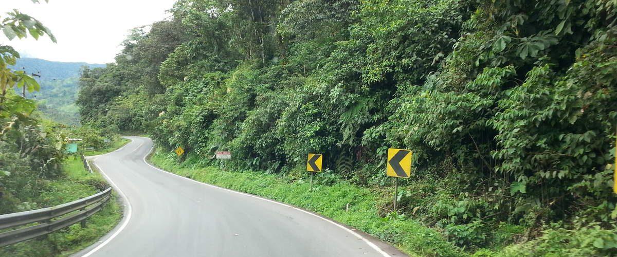 Carreteras de Quilotoa