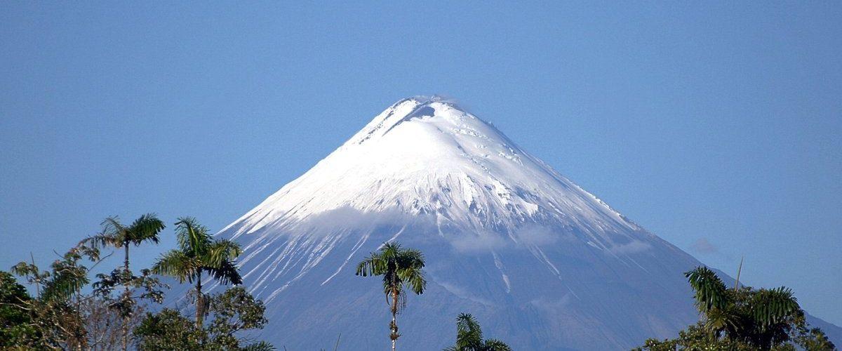 Volcan Cotopaxi en el Parque de Sangay