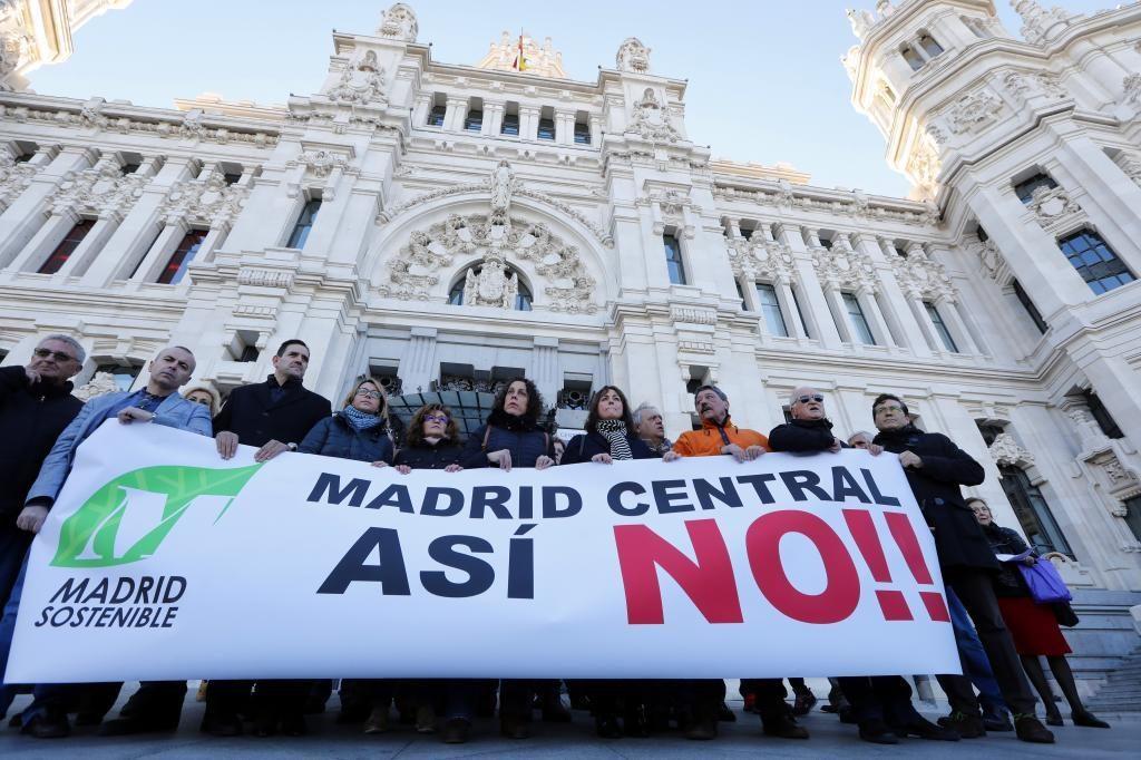 Protestas contra Madrid Central