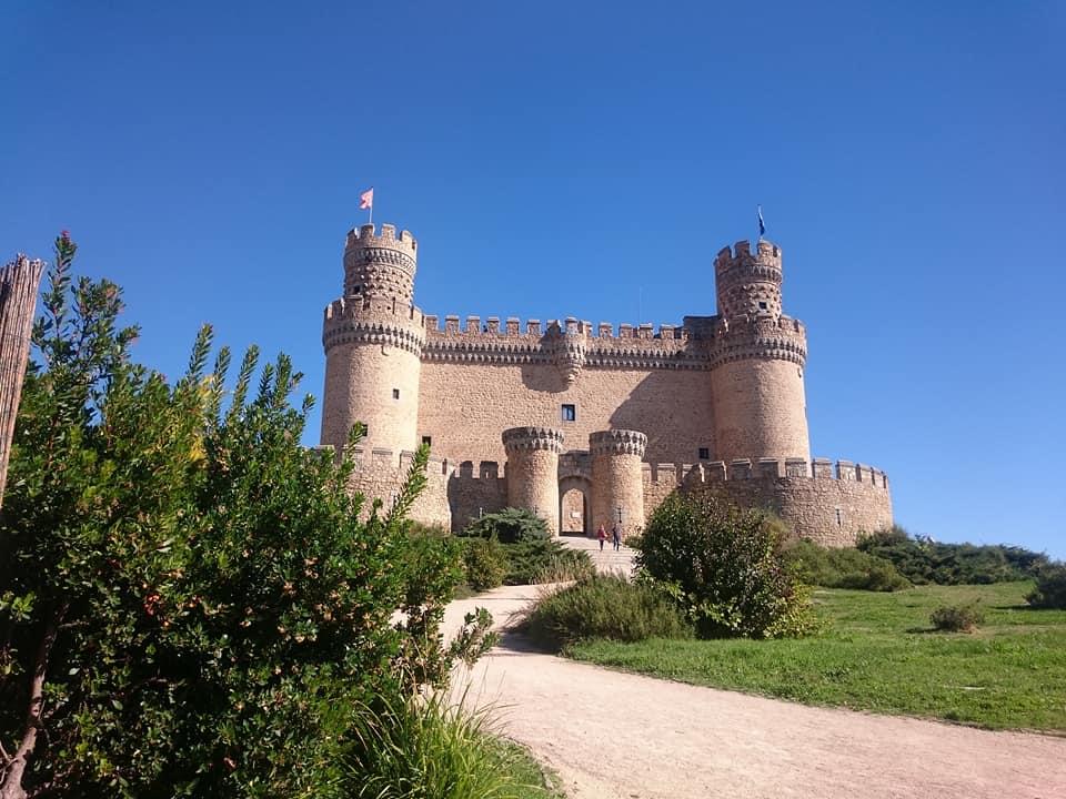 Castillo de Los Mendoza en Manzanares el Real (Madrid)
