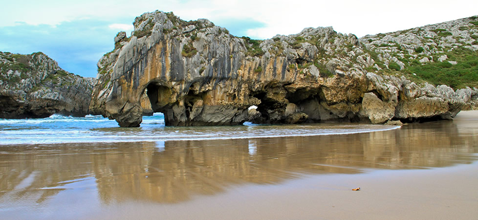 Las bellas playas de Llanes