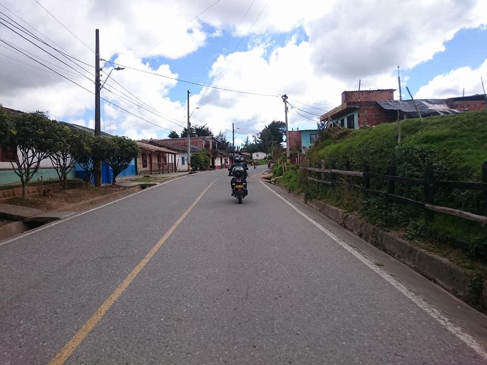 Viajando por Colombia