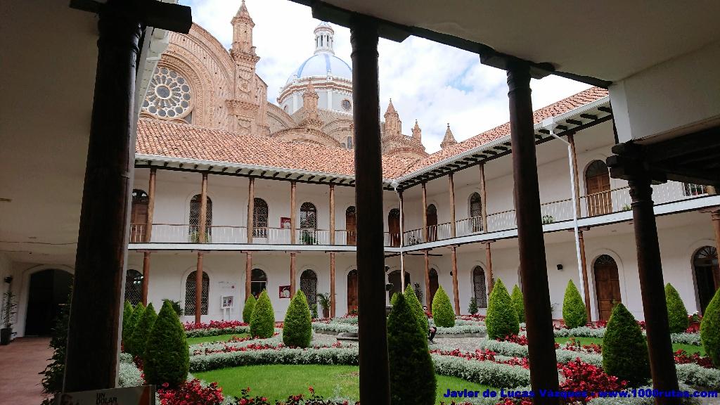Catedral desde el Seminario San Luis.