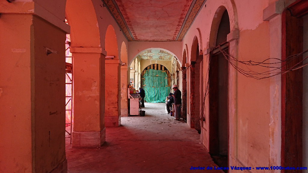 Soportales del Palacio del Obispado
