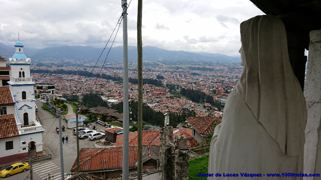 Cuenca vista desde el Mirador del Turi