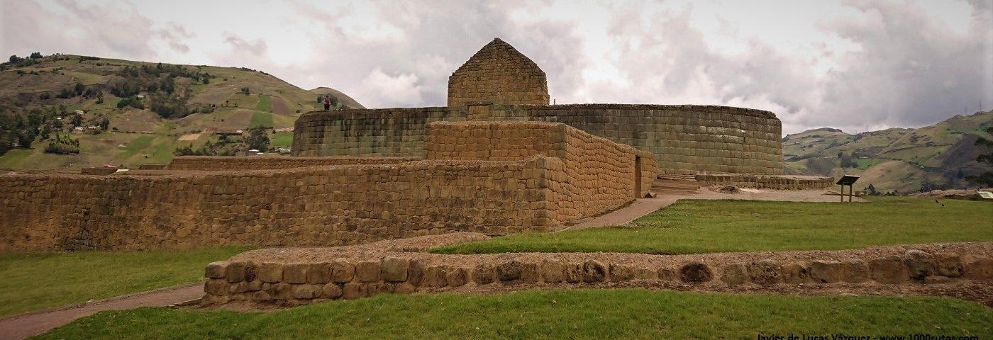 Incapirca, ruinas del asentamiento cañiri-inca