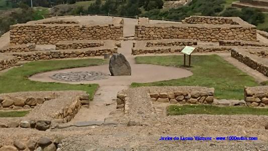 Area de edificaciones comunales de la civilización cañari y cementerio.Area de edificaciones comunales de la civilización cañari y cementerio.