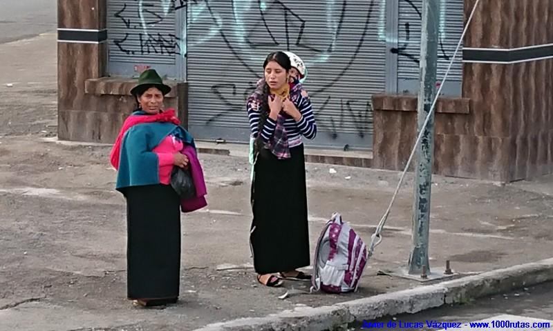 Cholitas andinas