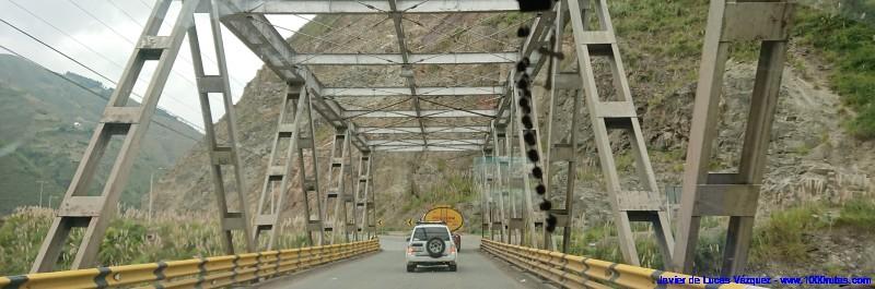 Puentes sobre profundos cauces
