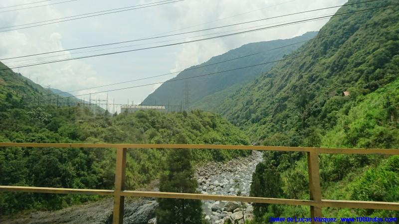 Caudalosos torrentes de montaña