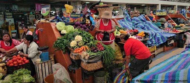 Mercado 10 de Agosto de Cuenca