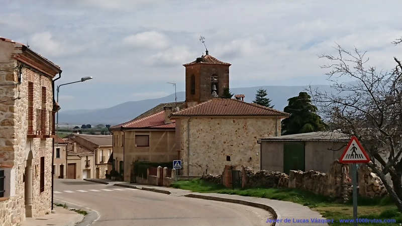 Adrada de Pirón, camino de Turégano.