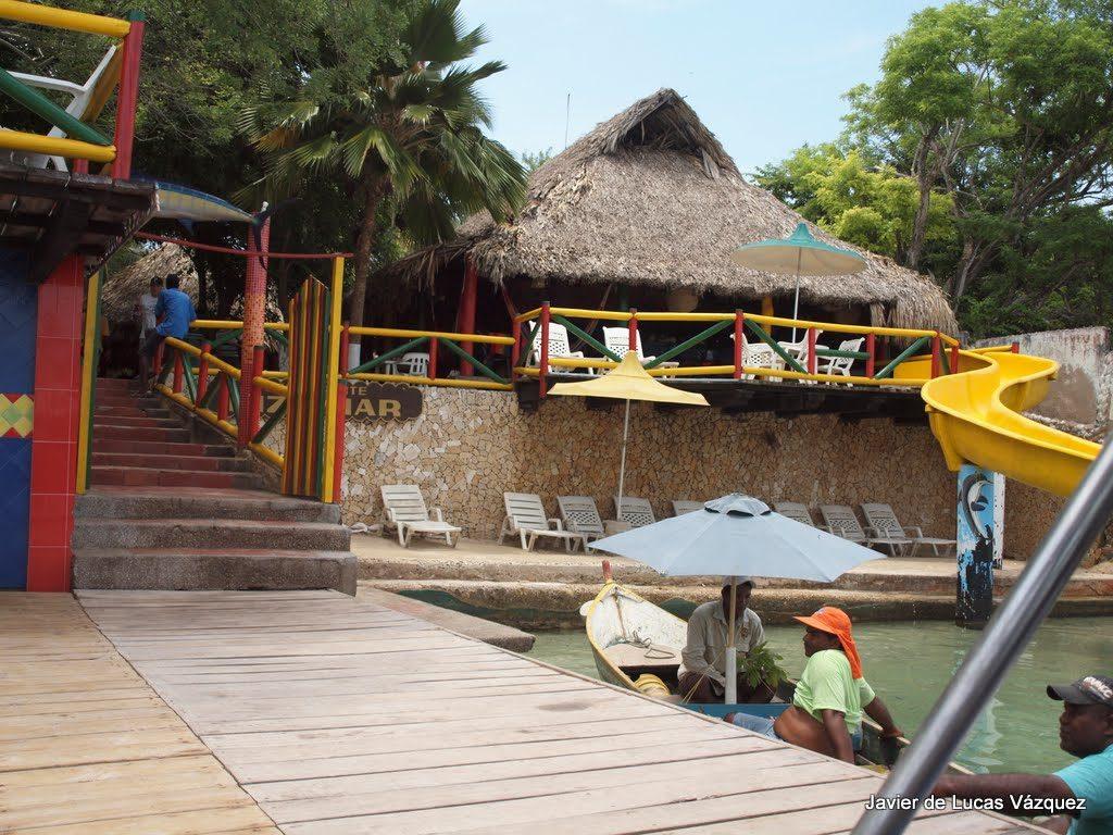 Islas del Rosario. Restaurante