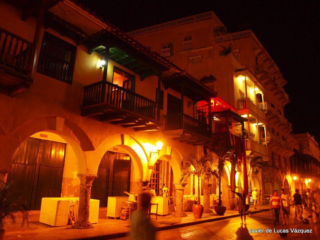 Las hermosas calles y plazas de la Ciudad Amurallada de Cartagena de Indias