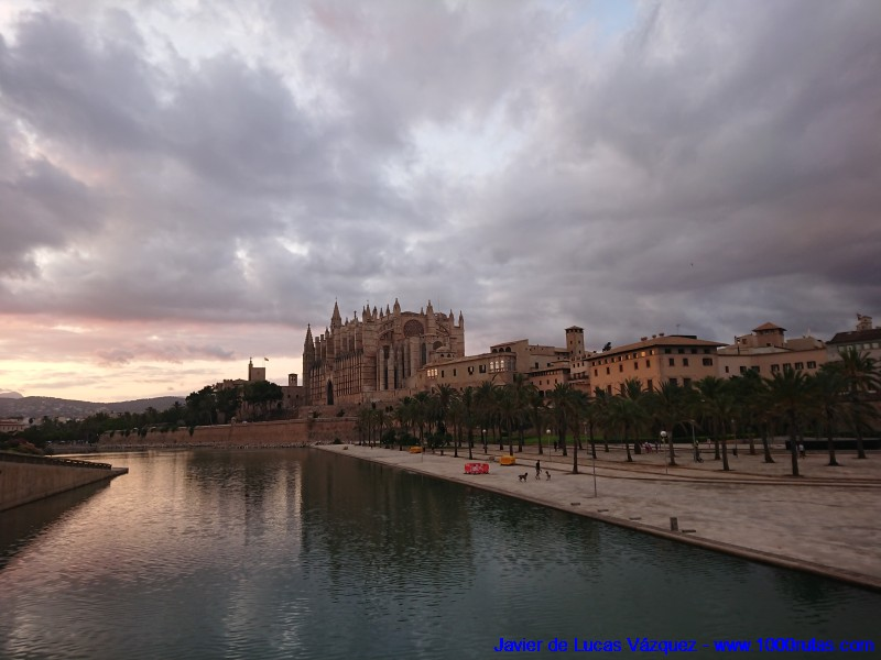La Catedral gótica de Palma de Mallorca