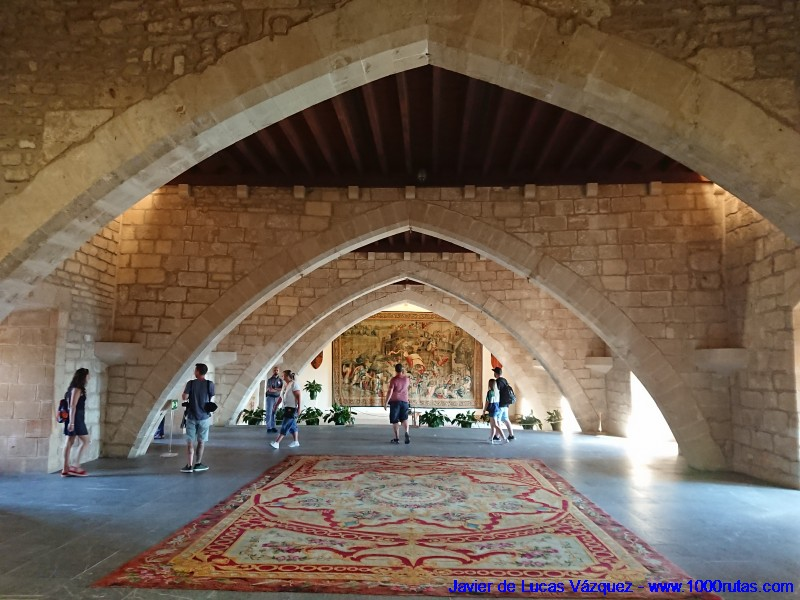 Interior del Palacio de la Almudaina
