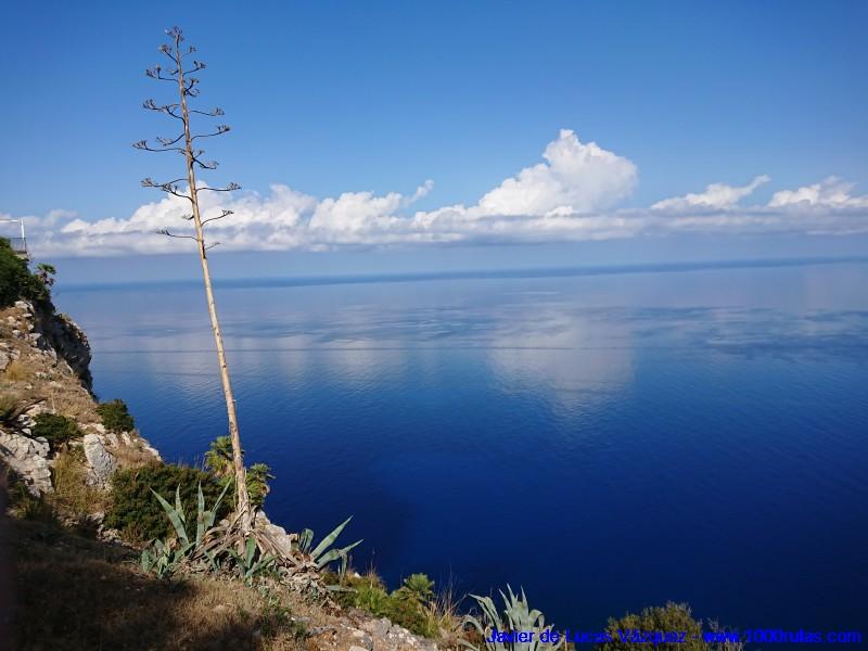 Costa nororeste de Mallorca vista desde el Mirador de Ricardo Roca