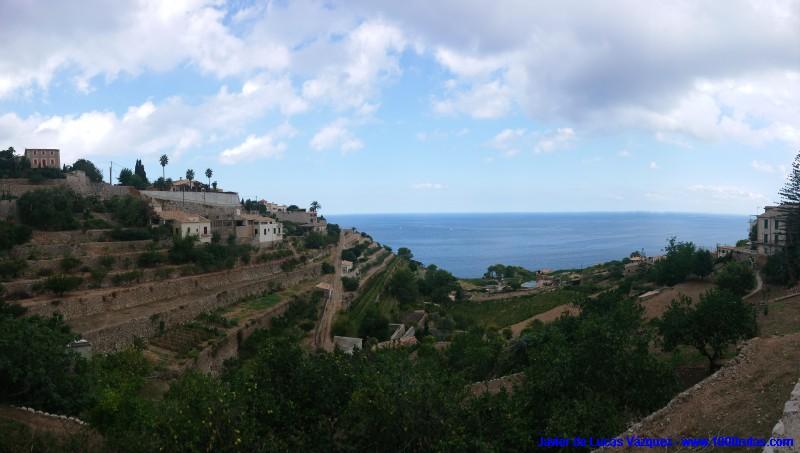 Terrazas junto al mar