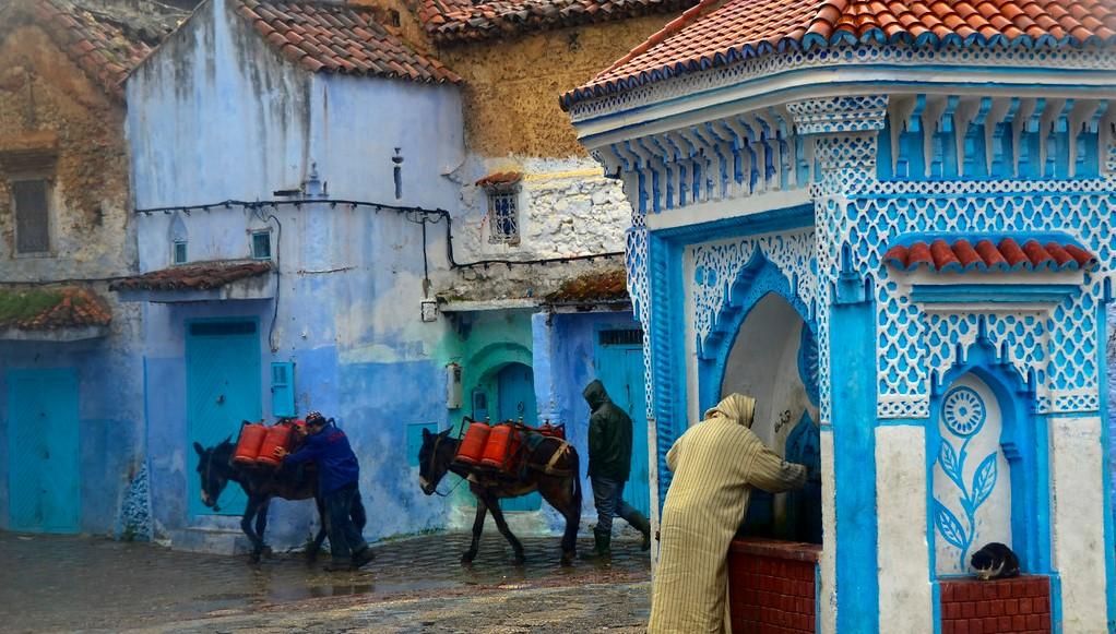 Chauen, la ciudad andalusí y árabe
