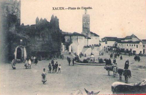 La Chauen española, antes del fin del protectorado