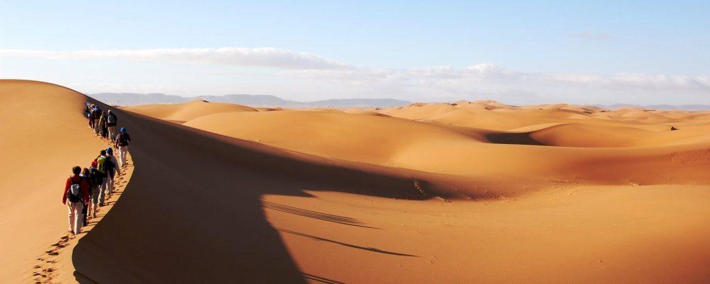 Erg Chebbí. El desierto de dunas más grande de Marruecos
