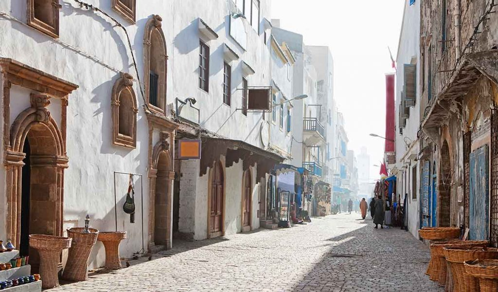 Casco histórico de Essaouira, declarado patrimonio de la humanidad
