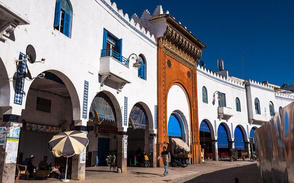 Plaza de la Liberación, antigua Plaza de España ,de arquitectura colonial española