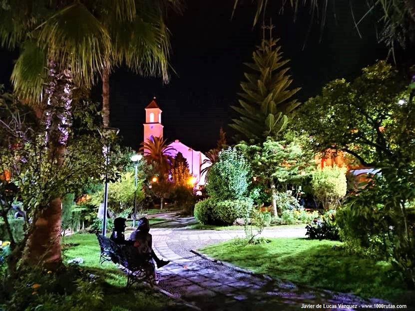 Urbanización colonial española de Chaouen correspondiente al siglo XX