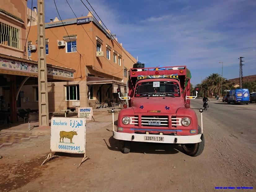 Camión Ford en Marruecos.