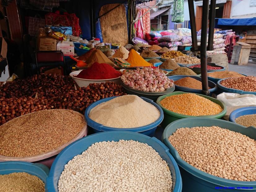 Especias en los mercados