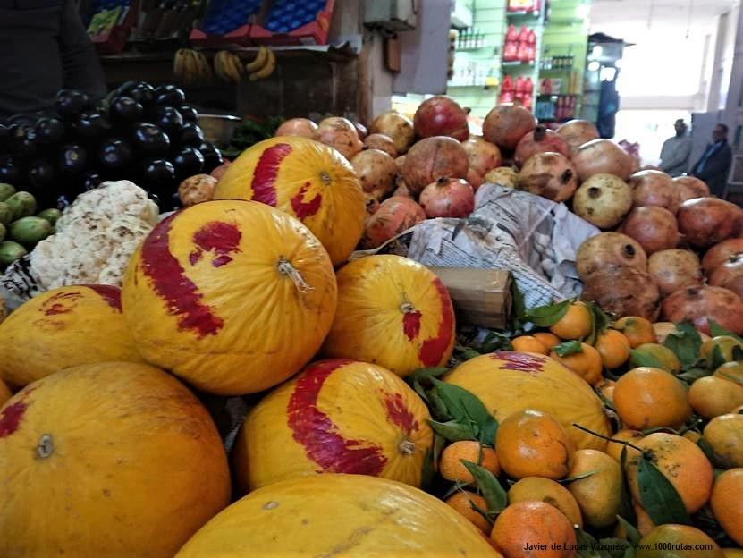 Puestos de frutas