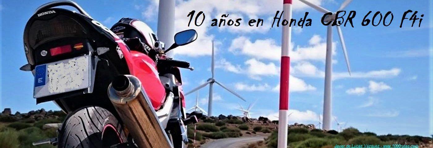 10 años en Honda CBR 600 F4i