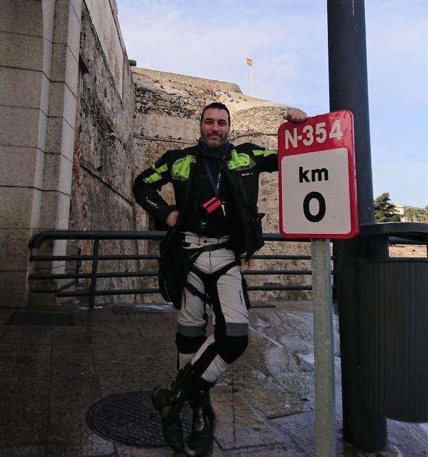 Kilómetro 0 de Ceuta