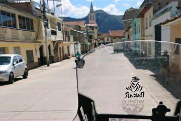 Calles coloniales en Oña, surerste árido de EcuadorCalles coloniales en Oña, surerste árido de Ecuador