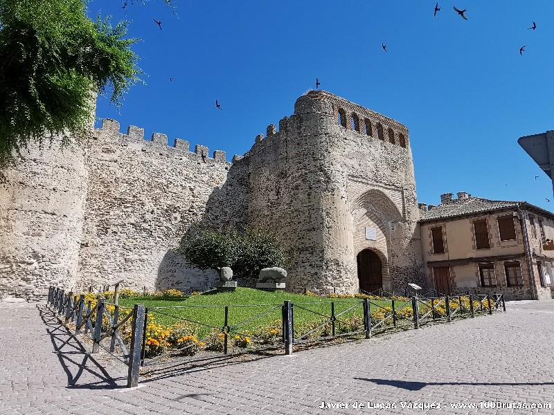 La puerta de la Muralla Romana