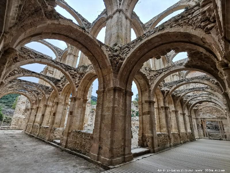 Ruinas del Claustro de Santa María del Rioseco