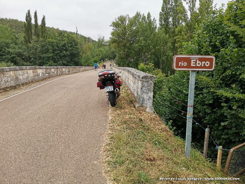Puente sobre el Ebro en Báscones de Ebro