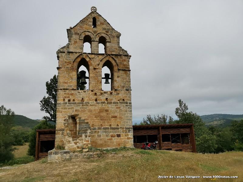 Espadaña de la Iglesia de Valverde