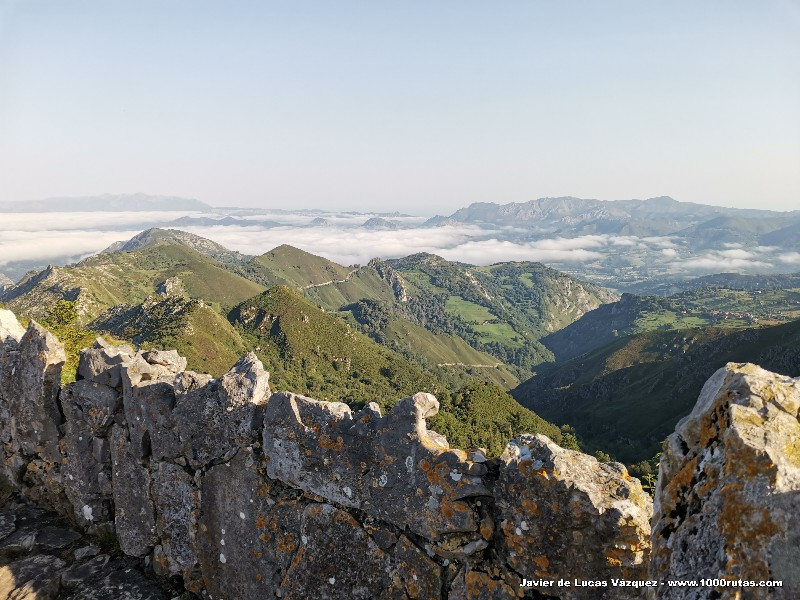 Mirador de La Reina. Ascenso a los Lagos de Covadonga